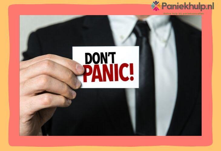 wat is een paniekaanval